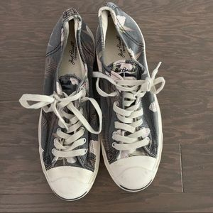 Jack Purcell floral sneakers men's size 11.5